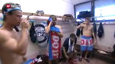 Video «FCZ-Spieler feiern» abspielen