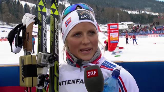 Interview mit Therese Johaug