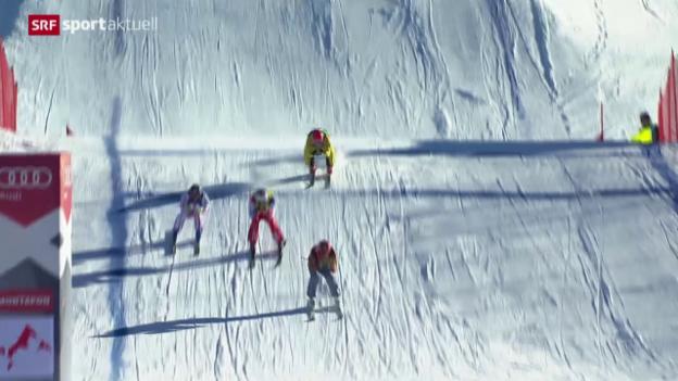 Video «Wintersport: Langlauf, Biathlon und Skicross» abspielen