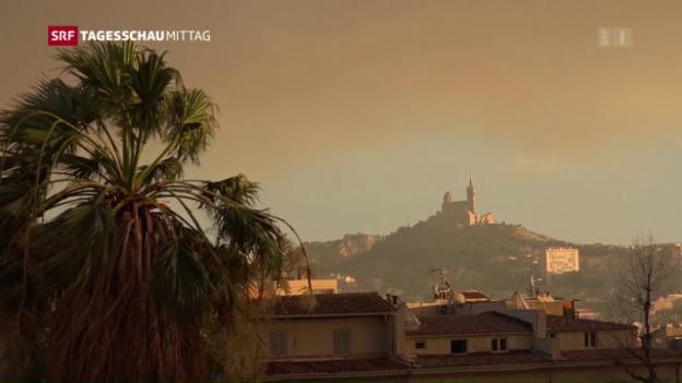 Video «Waldbrand in Südfrankreich» abspielen