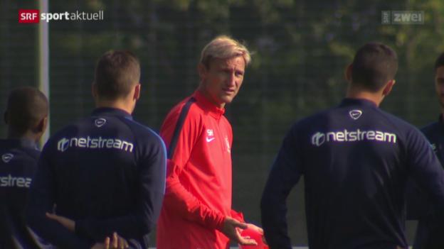 Video «Fussball: Vorschau FCZ - Basel» abspielen
