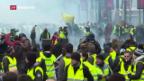Video ««Gilets jaunes» gegen Macron, gegen Treibstoffsteuern» abspielen
