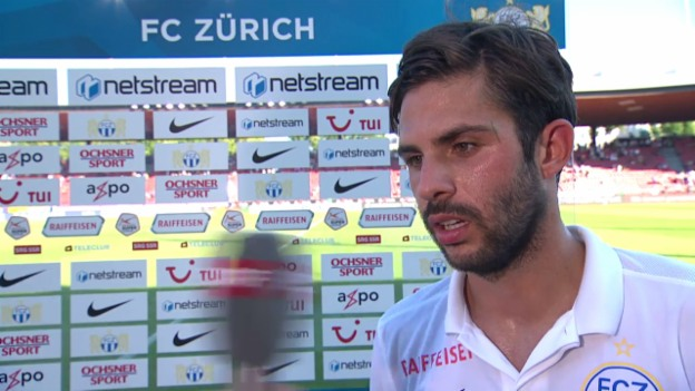 Video «Fussball. FCZ-GC, Interview Oliver Buff» abspielen