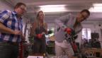 Video ««Das Goldene Laubsägeli»: «g&g» schickt Promis ins Werken» abspielen