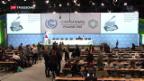 Video «UNO-Klimakonferenz: Warten auf Abschlusserklärung» abspielen