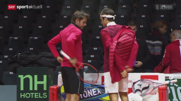 Video «Tennis: Situation von Roger Federer» abspielen