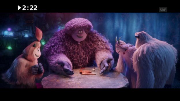 Video «Kinostart diese Woche: «Smallfoot»» abspielen