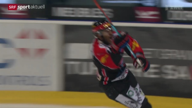 Video «Eishockey: Freiburg - Lausanne» abspielen