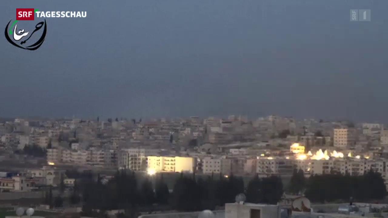 Eskalation in Syrien