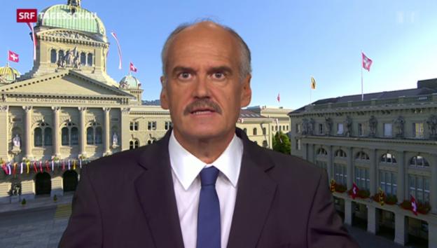 Video «Hanspeter Forster zur CVP-Asylpolitik» abspielen