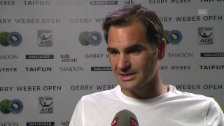 Link öffnet eine Lightbox. Video Federer: «Brauche totale Erholung» abspielen