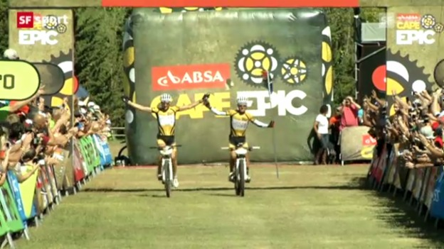 Video «Sauser/Stander gewinnen Cape Epic 2012» abspielen
