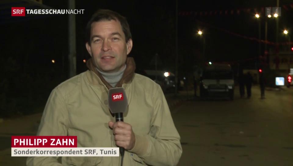 SRF-Sonderkorrespondent Philipp Zahn zum Anschlag in Tunis