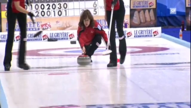 Curling-EM: Mirjiam Otts letzter Stein gegen Deutschland