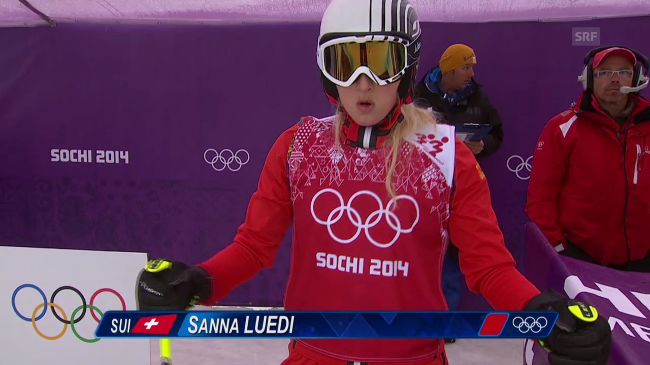 Skicross: Frauen, Achtelfinal mit Sanna Lüdi (sotschi direkt, 21.2.2014)
