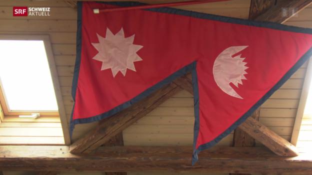 Video «Zürcher Stiftung in Nepal berichtet vom Erdbeben» abspielen