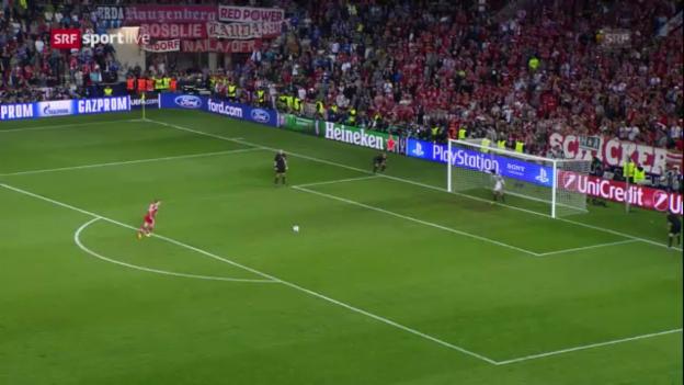 Video «Bayern - Chelsea: Das Penaltyschiessen» abspielen
