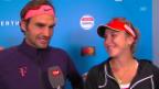 Video «Federer: «Wie lange haben wir Zeit?»» abspielen