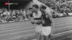 Video «Emil Zátopek – tschechoslowakischer Wunderläufer mit grossem Herz» abspielen