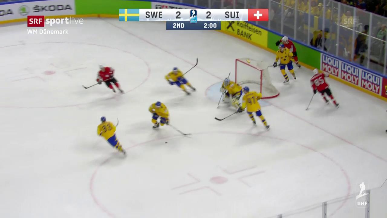 Die Live-Highlights bei Schweden - Schweiz