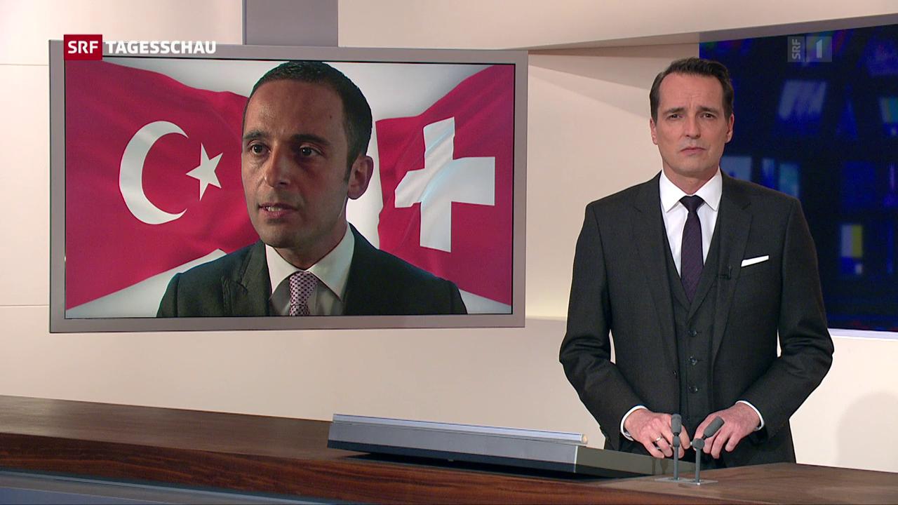 Karagös war als Diplomat in Bern noch gerne Sprachrohr Erdogans