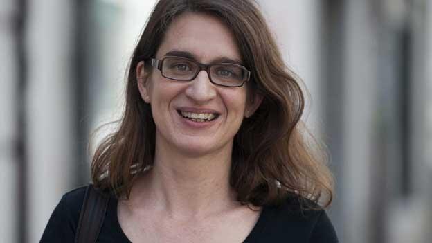 Bettina Spoerri, Leiterin der Literaturtage, im Gespräch mit Bähram Alagheband (04.04.2013)
