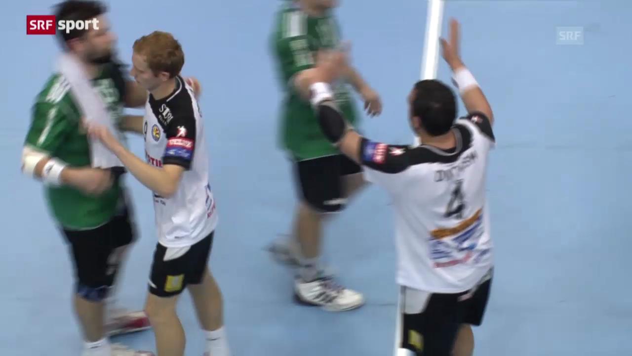 Handball: Wacker Thun - Metalurg Skopje («sportaktuell»)