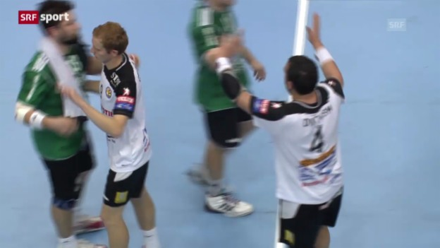 Video «Handball: Wacker Thun - Metalurg Skopje («sportaktuell»)» abspielen