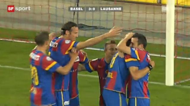 Super League: Basel - Lausanne