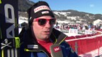 Video «Feuz: «Es war ein schwieriges Rennen»» abspielen