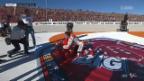 Video «Dritter Platz reicht Marquez zum MotoGP-Weltmeister-Titel» abspielen