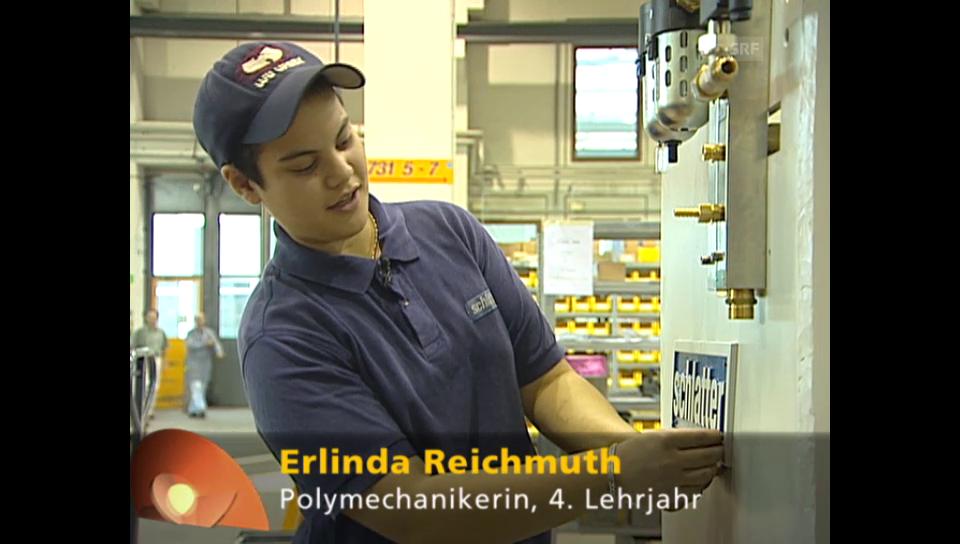 Berufsbild: Polymechanikerin EFZ