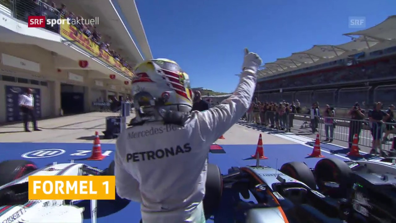 Hamilton im Qualifying der Schnellste