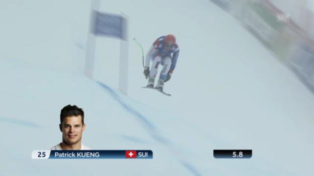 Video «WM-Abfahrt: Patrick Küng» abspielen