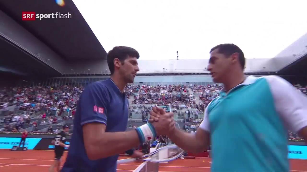Djokovic müht sich zum Sieg
