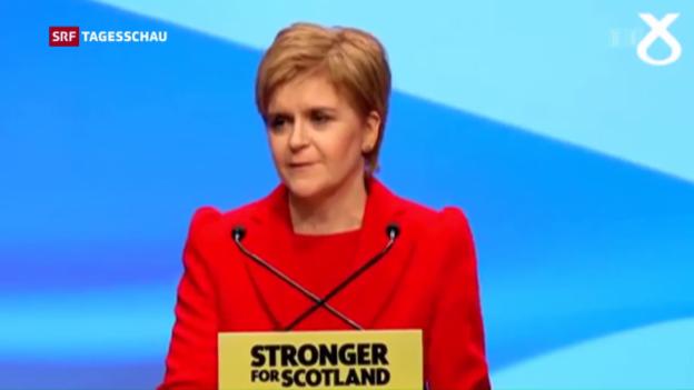 Video «Schottland wählt gegen den Brexit» abspielen