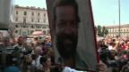 Video «Bud Spencer: Trauerfeier ohne Trauer» abspielen
