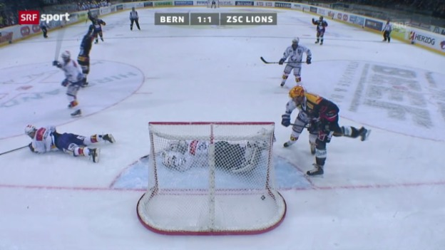 Video «NLA: Bern - ZSC Lions» abspielen