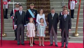 Video «Neuer König für Spanien» abspielen