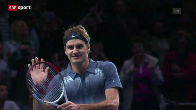 Video «Matchbericht Federer-Del Potro («sportaktuell»)» abspielen