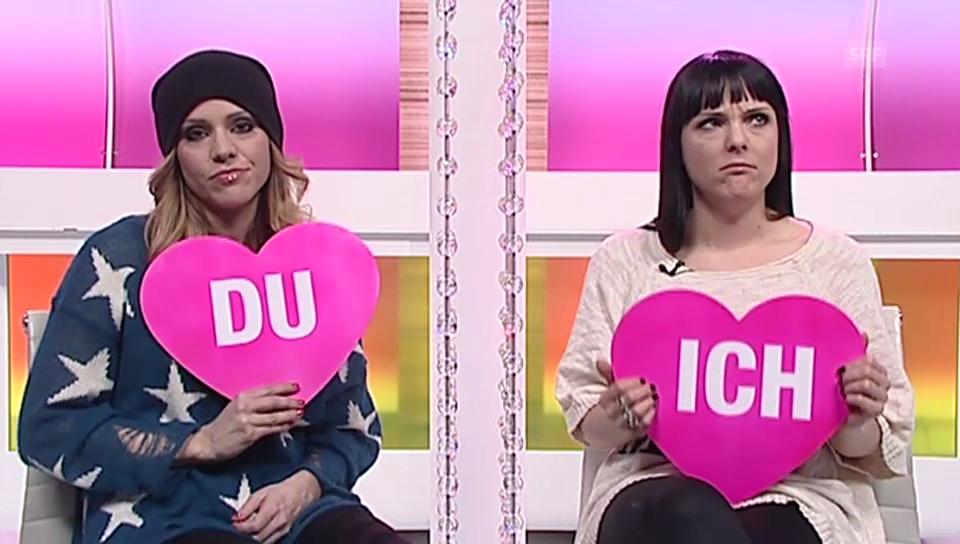 Evelyne Zangger und Amanda Nikolic