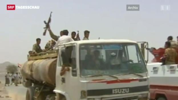 Video «Entführung von Rot-Kreuz-Mitarbeitern in Jemen» abspielen
