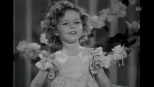 Video «Alte Filmaufnahmen von Shirley Temple» abspielen
