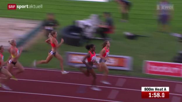 Video «Leichtathletik: Luzern, Büchel und Schweizer Highlights» abspielen