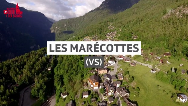 Video «Dorfporträt: Les Marécottes (VS)» abspielen
