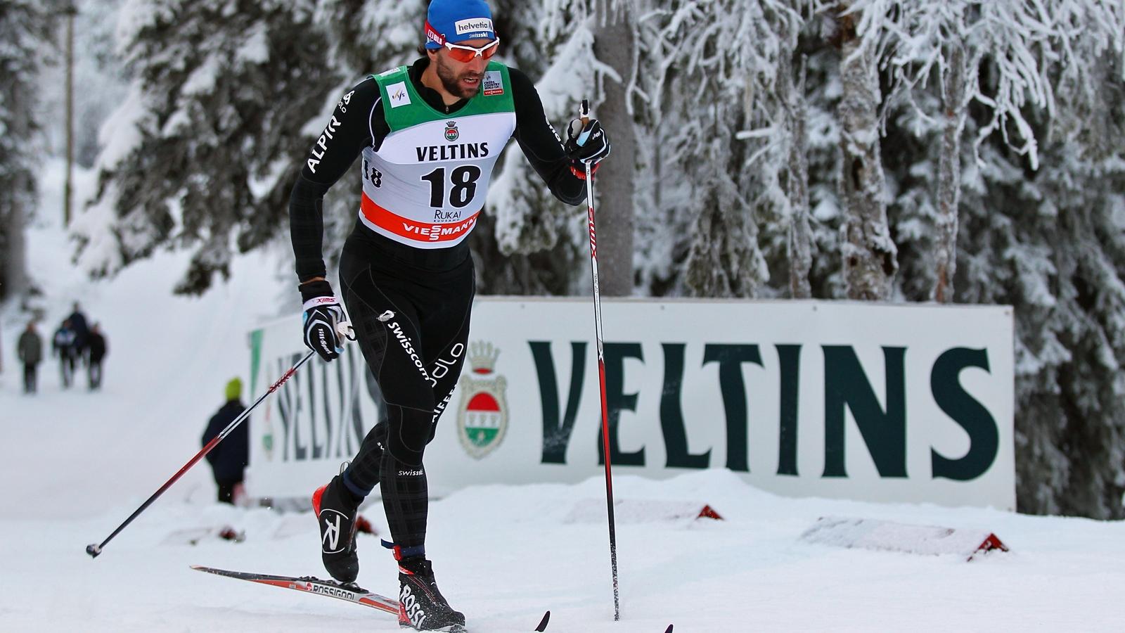 Curdin Perl und Teamkollegen vor den Rennen in Davos (Radio SRF 1, 12.12.14, 18:45 Uhr)