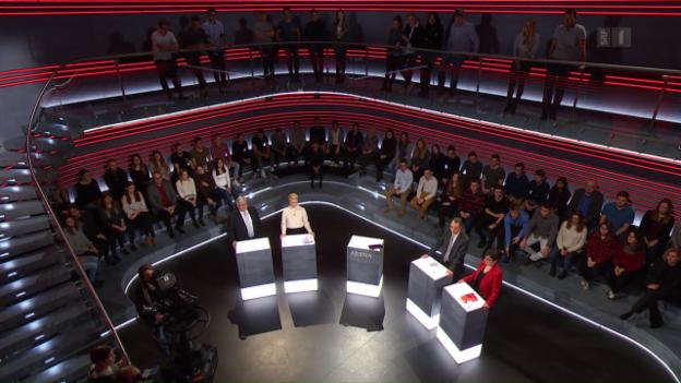Video «Zuwanderung: Der Showdown» abspielen