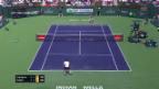 Video Die Live-Highlights bei Federer - Coric abspielen.