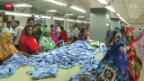 Video «Bessere Arbeitsbedingungen in Bangladesch» abspielen