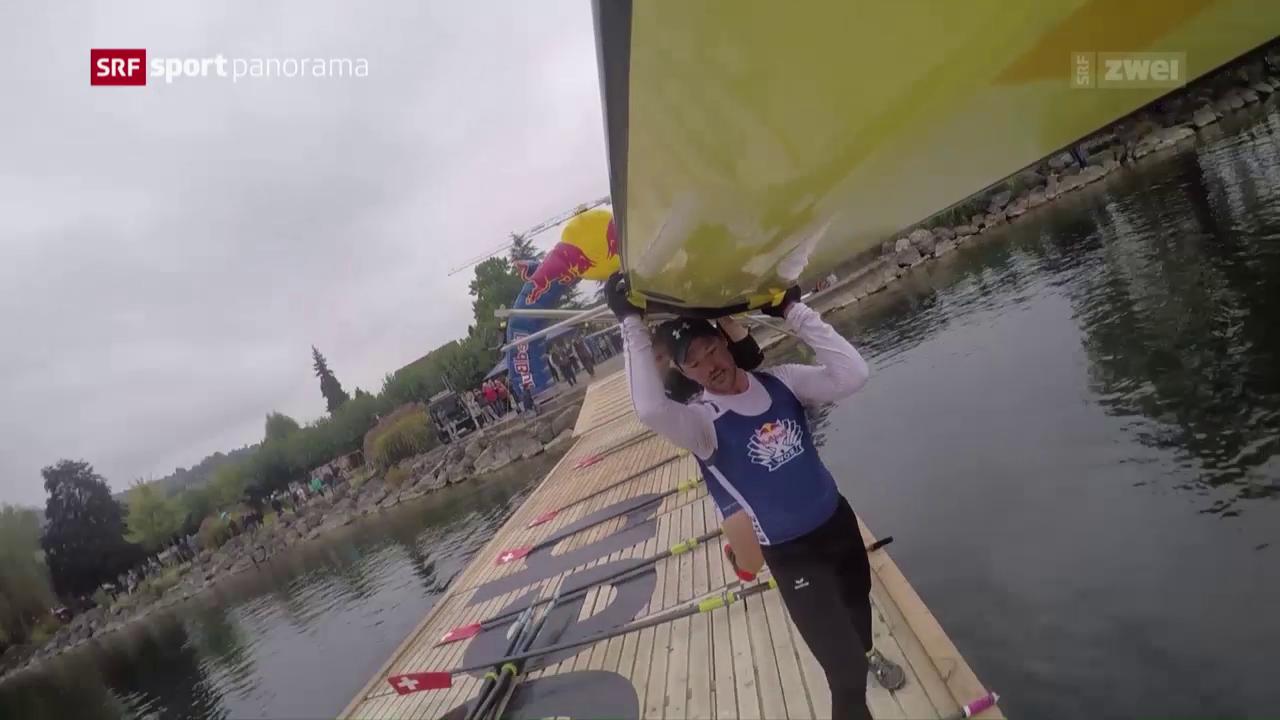 Red Bull XRow – ein Duathlon für Ruderer